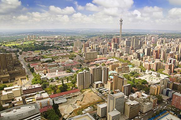 Lebendige Metropole Johannesburg