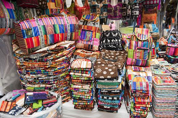 Indio-Kultur in Otavalo