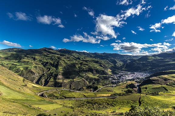 Mit dem Zug über die Teufelsnase von Riobamba nach Alausí
