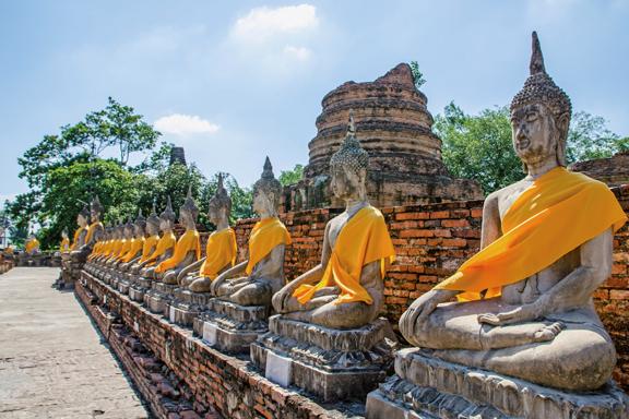 Ayutthaya: Alter Glanz des Königreichs Siam