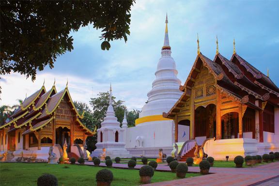 Entspannte Metropole Chiang Mai