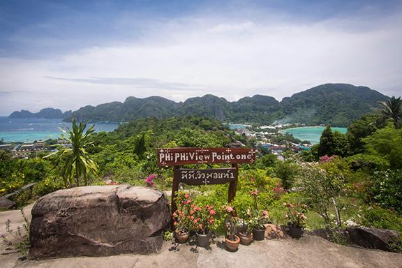 Postkartenidylle auf Ko Phi Phi