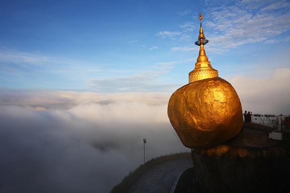 Der Goldene Felsen (Mount Kyaiktiyo) und Bago