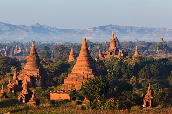 Das Tempelmeer von Bagan