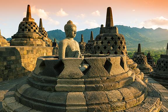 Java: Yogyakarta und UNESCO-Weltkulturerbe Borobudur