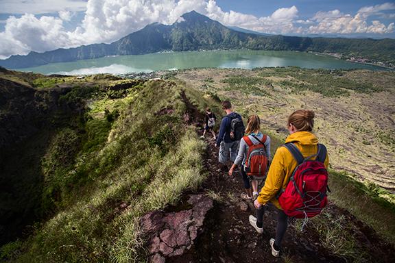 Bali: Kintamani mit Aufstieg zum Batur-Vulkan