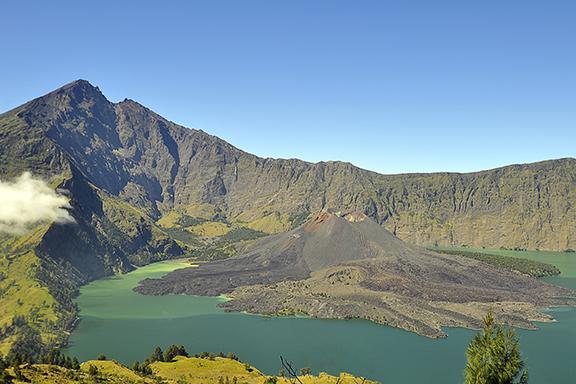 Lombok: Trekking auf den Rinjani-Vulkan