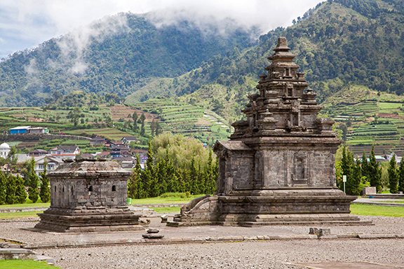 Java: Vulkanisches Dieng-Plateau