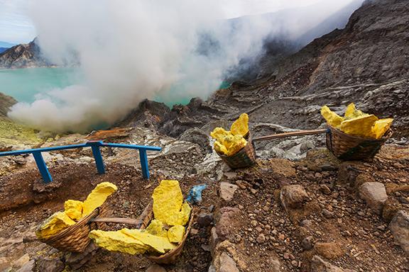 Java: Wanderung zum Ijen-Krater