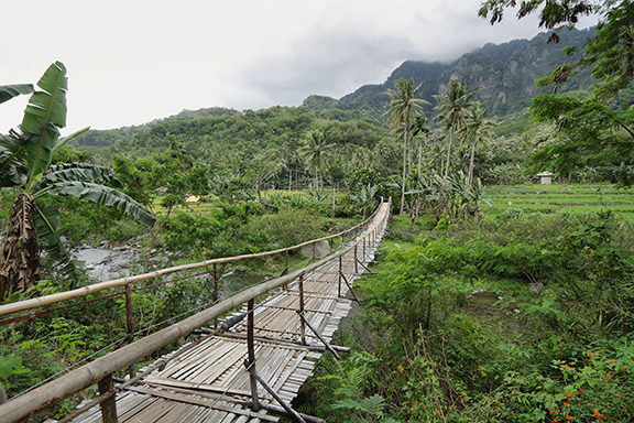 Flores: Wanderung durch den Regenwald bis Waerobo