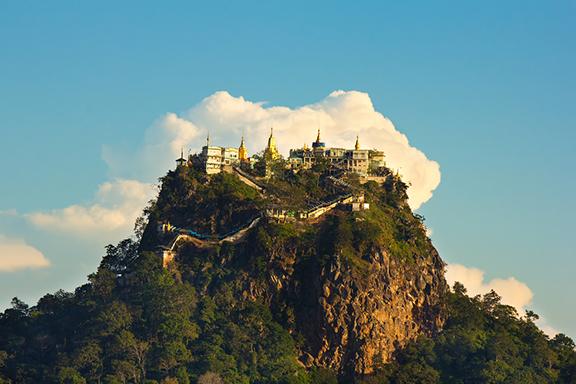 """Mount Popa und der """"heilige"""" Wald von Zee O"""
