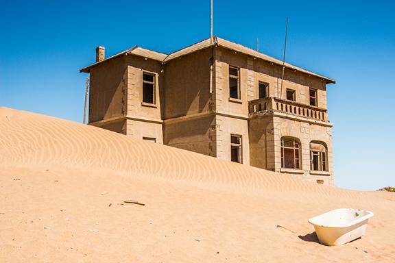 Koloniales Lüderitz und Geisterstadt Kolmanskop
