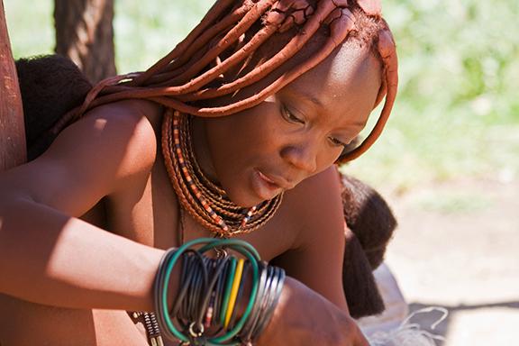Zu Besuch bei den Himba im Kaokoland