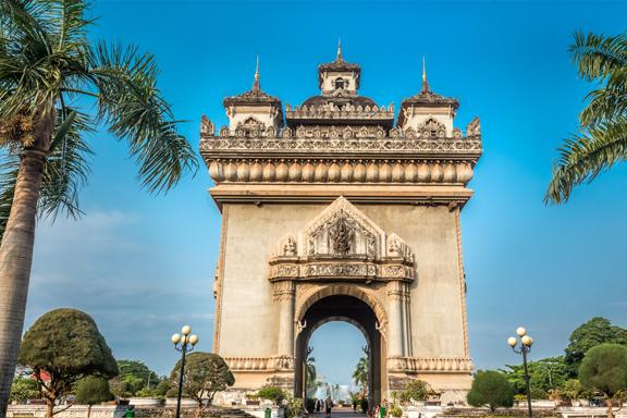 Entspannte Hauptstadt Vientiane und skurriler Buddha-Park