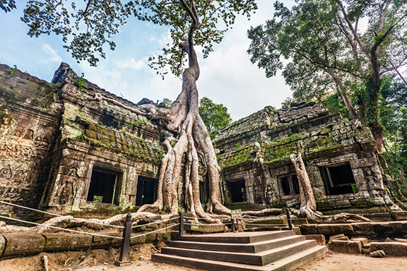 Siem Reap und die Tempel von Angkor