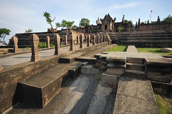 Verborgener Bergtempel Preah Vihear