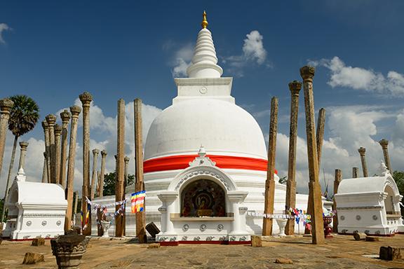 Anuradhapura mit Besuch im Wilpattu-Nationalpark