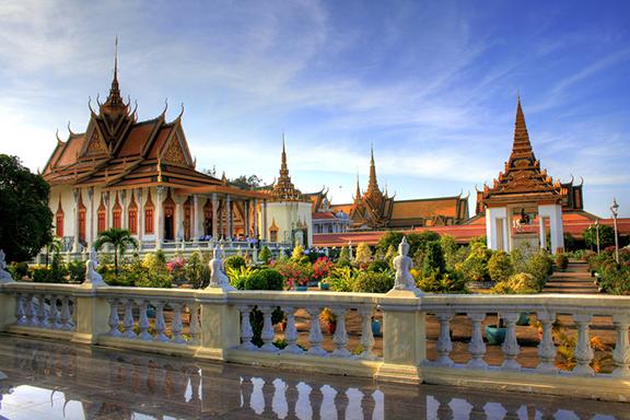 Mit dem Tuk Tuk durch Phnom Penh