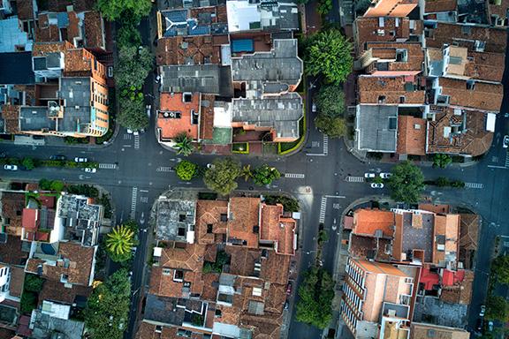 Moderne Metropole Medellín