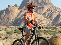 Namibia mit dem Fahrrad