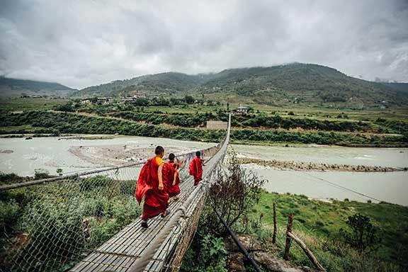 Bhutan und Indien (Darjeeling, Sikkim und Kolkata)