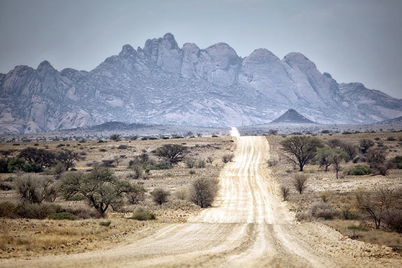 Sambia-Botswana-Namibia-Südafrika