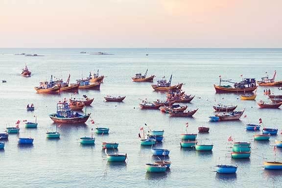 Vietnam und Kambodscha überland