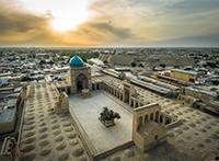 Usbekistan mit Verlängerung Turkmenistan