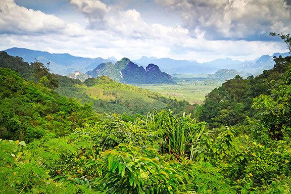 Thailand: der Norden und Süden