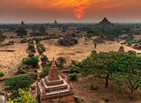 Myanmar mit Verlängerung Ngapali-Strand