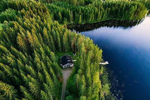 Finnland: der Süden