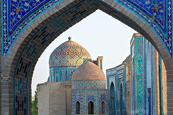 Usbekistan, Turkmenistan und Iran