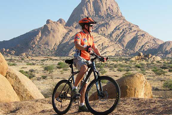 Namibia mit dem Fahrrad (mit Verlängerung Kapstadt)