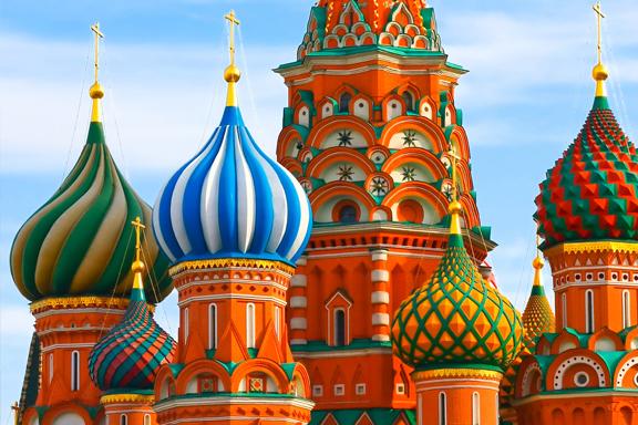 Russland, Mongolei und China