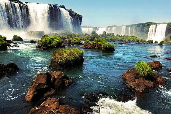 Brasilien, Argentinien, Bolivien, Peru und Ecuador