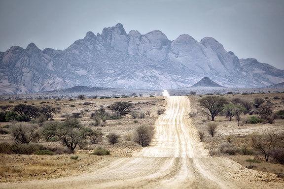 Simbabwe-Botswana-Namibia-Südafrika