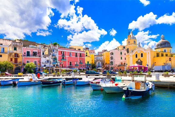 Italien: Kampanisches Archipel und Neapel